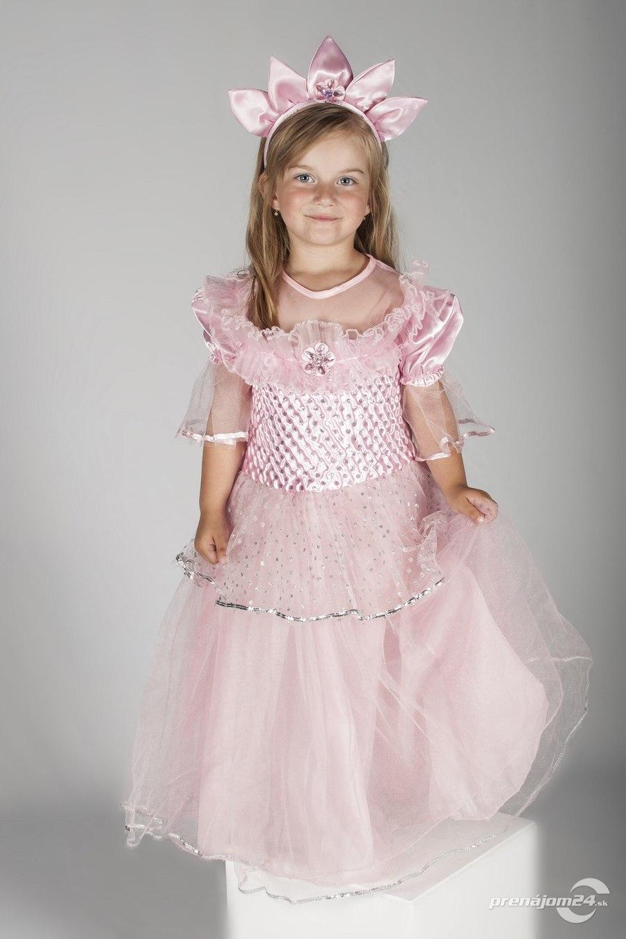 a973476f454a Na prenájom dievčenský kostým - Princezná
