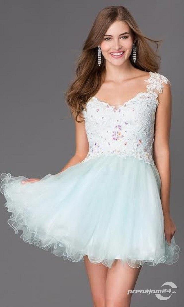 97656df84495 Modré tylové šaty pre princeznú