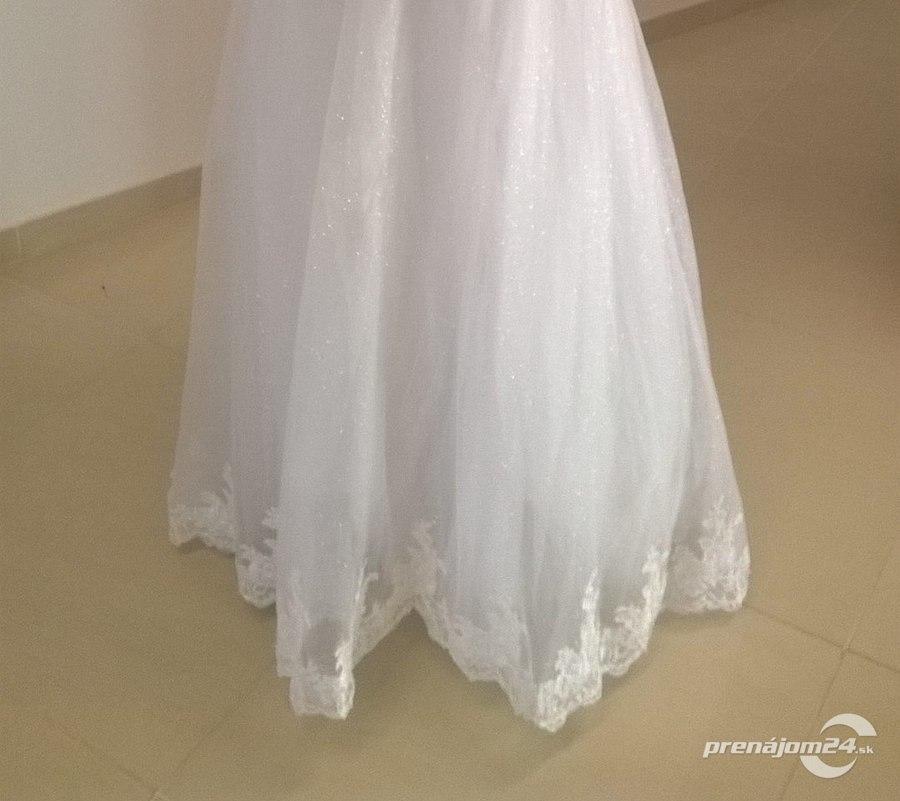 Trblietavé svadobné šaty 16d09b9aee8