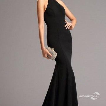 aa7300533ca4 Čierne šaty okolo krku S01303